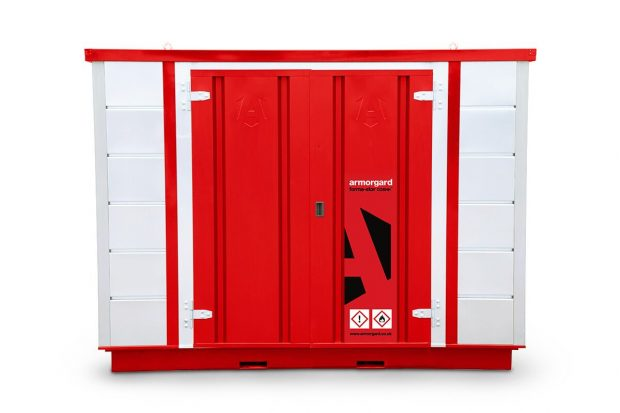 Oxtrad Tools Ltd Armorgard FR300C Forma-stor COSHH Modular Walk In Storage Unit img1