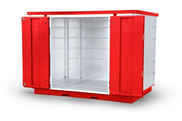 Oxtrad Tools Ltd Armorgard FR300C Forma-stor COSHH Modular Walk In Storage Unit img5