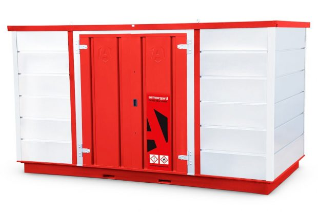 Oxtrad Tools Ltd Armorgard FR400C Forma-stor COSHH Modular Walk In Storage Unit img 5