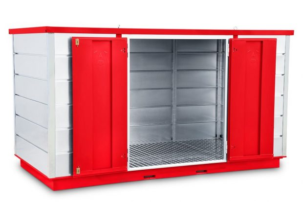 Oxtrad Tools Ltd Armorgard FR400C Forma-stor COSHH Modular Walk In Storage Unit img2
