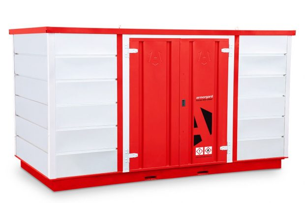 Oxtrad Tools Ltd Armorgard FR400C Forma-stor COSHH Modular Walk In Storage Unit img3