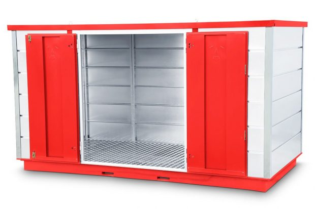 Oxtrad Tools Ltd Armorgard FR400C Forma-stor COSHH Modular Walk In Storage Unit img4