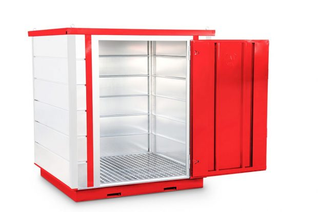 Oxtrad Tools Ltd Oxtrad Tools Ltd Armorgard FR200C COSHH Modular Walk In Storage Unit img 2