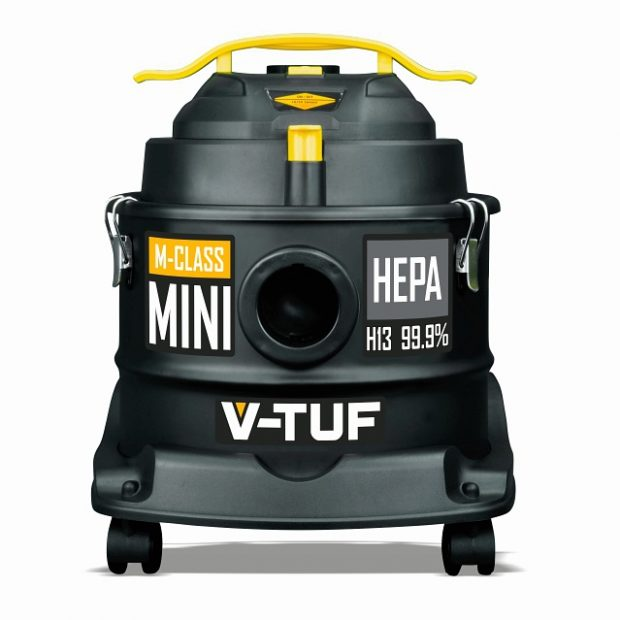 Oxtrad Tools V-TUF M-Class Mini 240 Dust Extraction Vacuum 240v