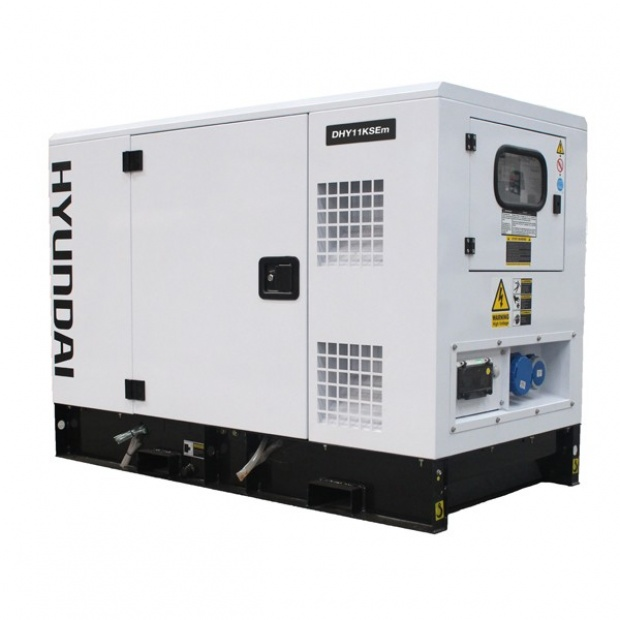 Oxtrad Tools Ltd Hyundai 14kVA Single Phase Diesel Generator DHY11KSEm
