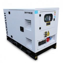 Oxtrad Tools Ltd Hyundai 14kVA Single Phase Diesel Generator DHY11KSEm Single Phase Diesel Generator 13.75kva 1
