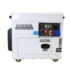 Oxtrad Tools Ltd Hyundai DHY8000SELR-T Three Phase Long Run Diesel Generator 6kW 1
