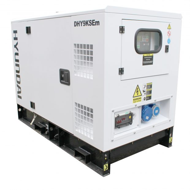 Oxtrad Tools Ltd Hyundai DHY9KSEm 11Kva Single Phase Diesel Generator1