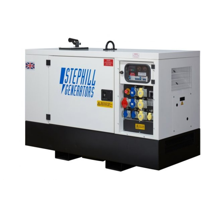 Stephill SSDK12M Multi Phase Super Silent Generator 12kVA 9.6kW