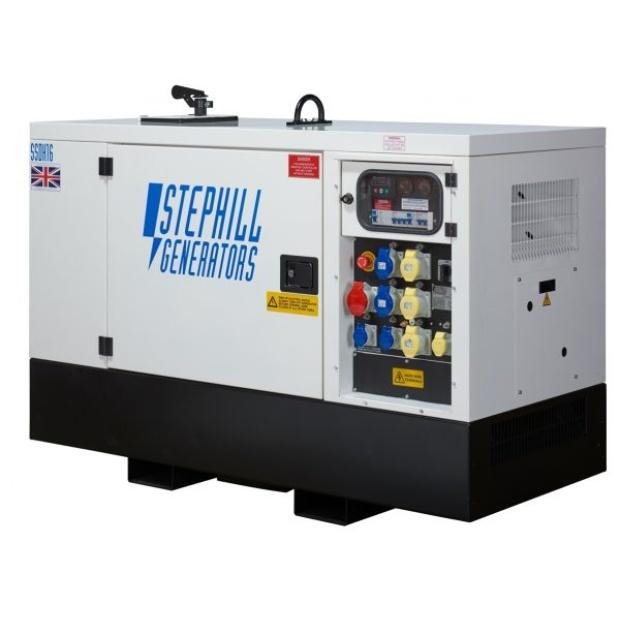 Oxtrad Tools Ltd Stephill SSDK16M Multi Phase Generator 16kVA 12.8kW