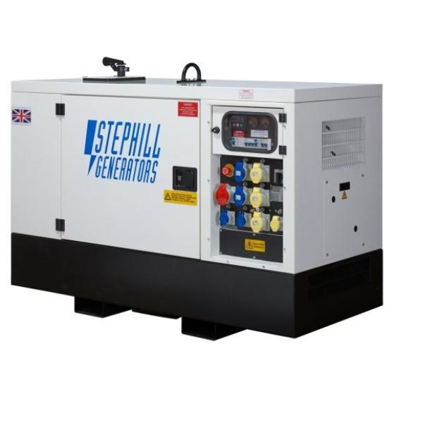 Oxtrad Tools Ltd Stephill SSDK20M Multi Phase Super Silent Generator 20kVA 16kW