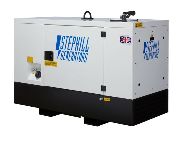 Oxtrad Tools Stephill SSDK12M Multi Phase Super Silent Generator 12kVA 9.6kW