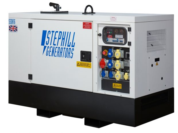 Oxtrad Tools Stephill SSDK16M Multi Phase Generator 16kVA 12.8kW