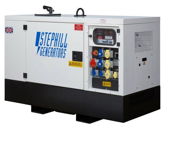Oxtrad Tools Stephill SSDK20M Multi Phase Super Silent Generator 20kVA 16kW