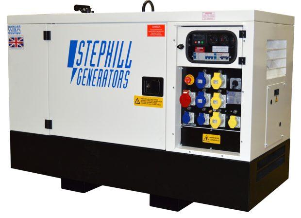 Oxtrad Tools Stephill SSDK25M Multi Phase Super Silent Generator 25kVA 20kW