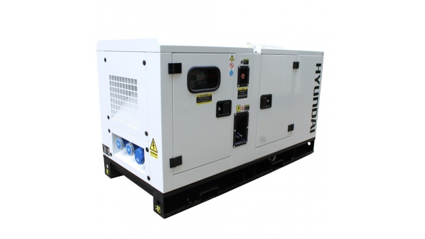 Oxtrad Tools Ltd Hyundai 22kVA Diesel Generator Single Phase DHY18KSEm