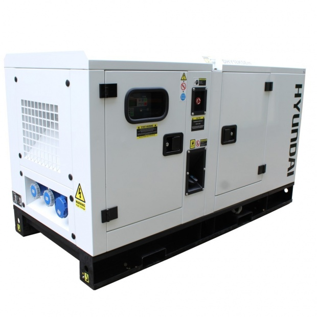 Oxtrad Tools Ltd Hyundai 22kVA Diesel Generator Single Phase DHY18KSEm