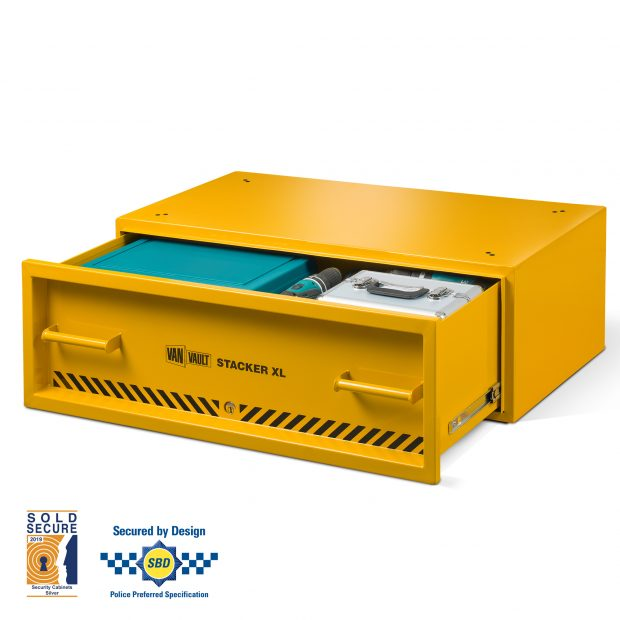 Oxtrad Tools Ltd Van Vault S10890 Stacker XL Secure Van Storage Drawer
