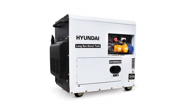 Oxtrad Tools Ltd Hyundai DHY8000SELR 6kW Silenced Long Run Generator
