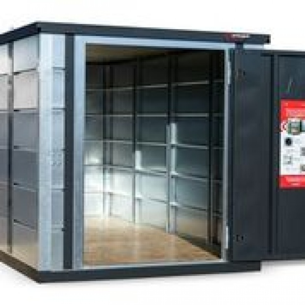 Armorgard FR400T Forma-Stor Flat Pack Storage Container 1