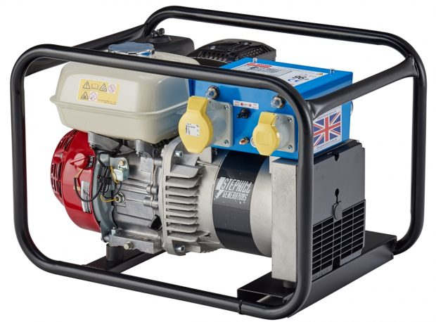 Oxtrad Tools Ltd Stephill 3400HM4S 3.4kva 2.7Kw Honda GX200 Petrol Generator