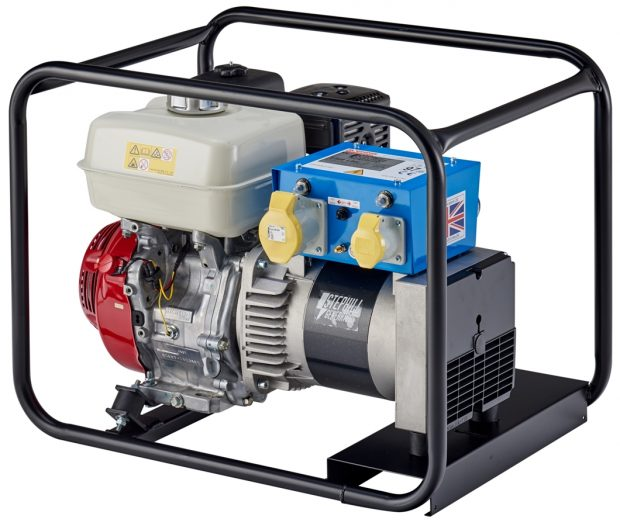 Oxtrad Tools Ltd Stephill 5000HMS 5.0kva 4.0Kw Honda GX270 Petrol Generator