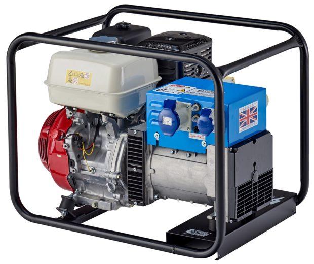 Oxtrad Tools Ltd Stephill 6500HMS 6.5kva 5.2Kw Honda GX390 Petrol Generator