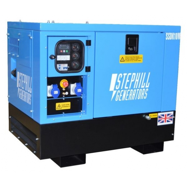 Oxtrad Tools Ltd Stephill SSDK10W 10kVA Welfare Cabin Generator
