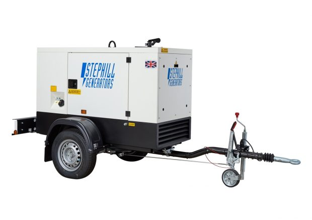 Oxtrad Tools Ltd Stephill SSDK20MRT Road Towable Super Silent Generator 20kVA 16kW