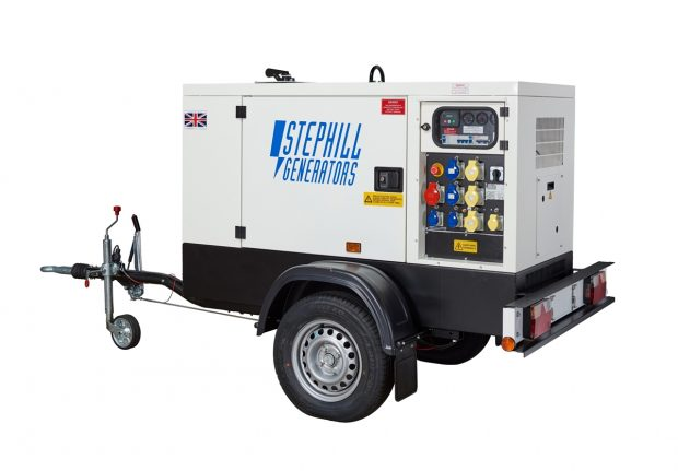 Oxtrad Tools Ltd Stephill SSDK25MRT Road Towable Super Silent Generator 25kVA 20kW