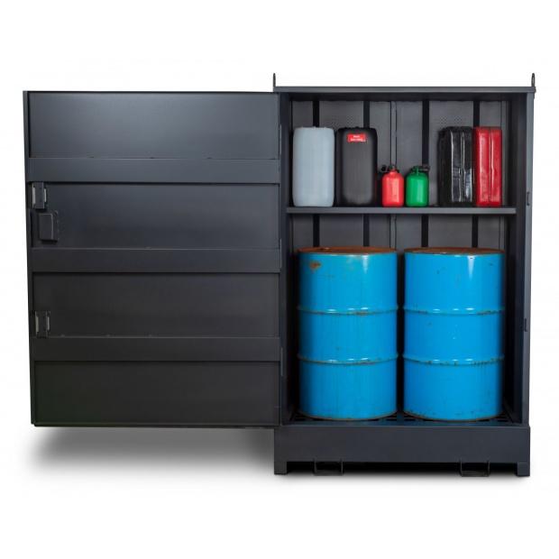 Armorgard DrumBank Cabinet DB2S 4