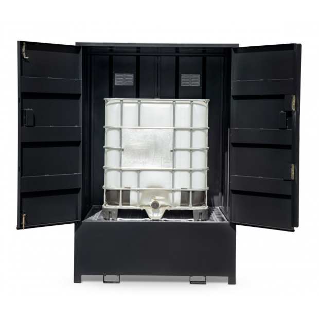 Armorgard DrumBank Enclosed Storage Unit for IBC Containers DBIBC1