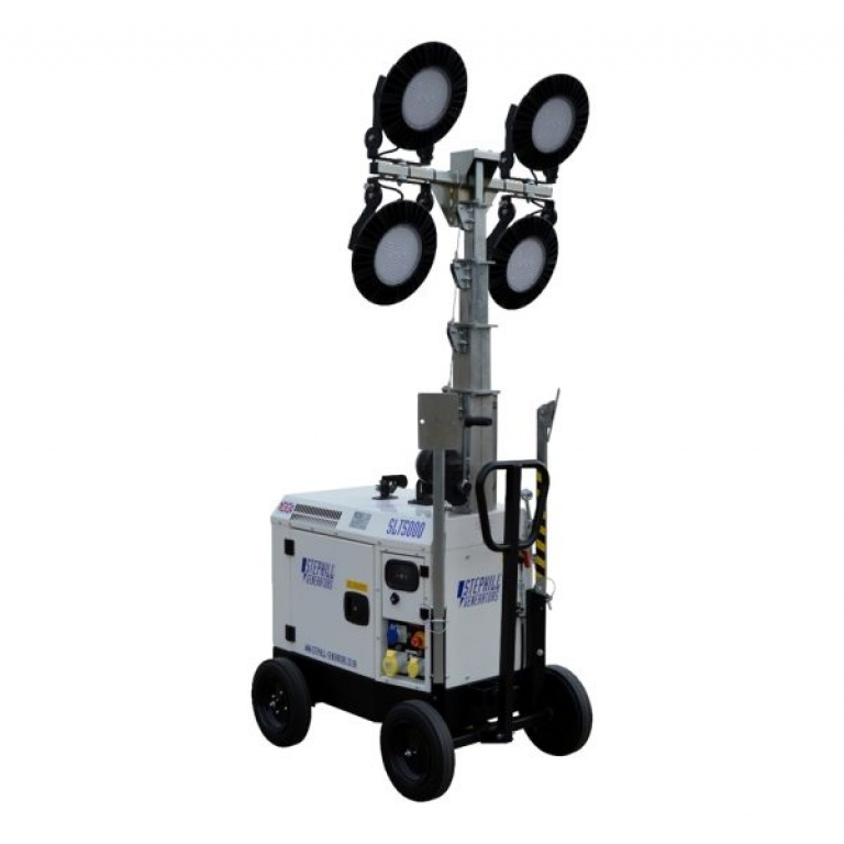 Oxtrad Tools Ltd Stephill SLT5000 Mini LED Lighting Tower Trolley Mounted