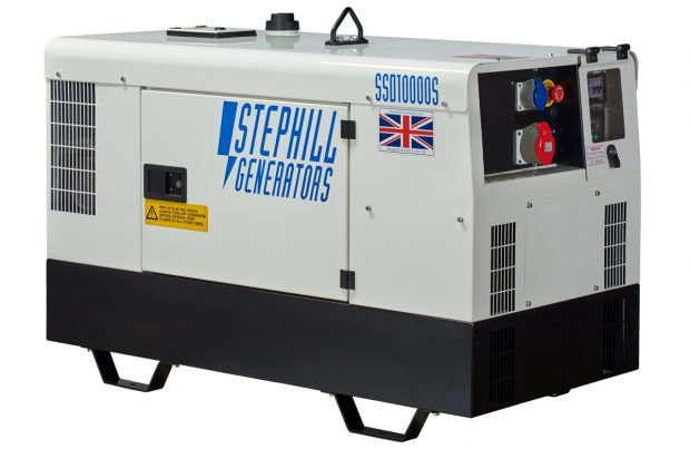 Oxtrad Tools Ltd Stephill SSD10000S 3PH 10kVA 3 Phase Super Silenced Generator