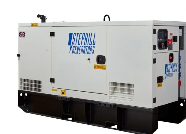 Oxtrad Tools Ltd Stephill SSDP33 Super Silent 3 Phase Generator 33kVA 26.4kW