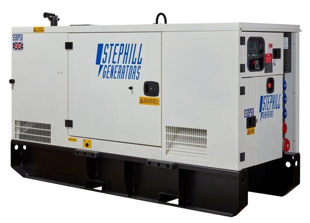 Oxtrad Tools Ltd Stephill SSDP50 Super Silent 3 Phase Generator 50kva 40kw