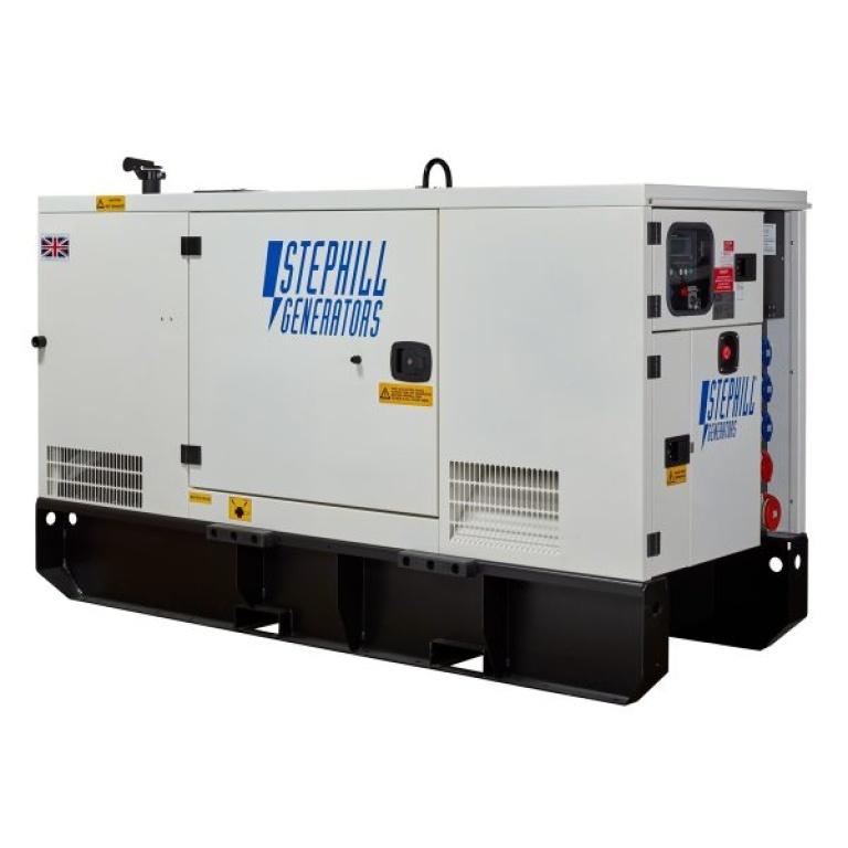 Oxtrad Tools Ltd Stephill SSDP70 Super Silent 3 Phase Generator 67kva 53kw