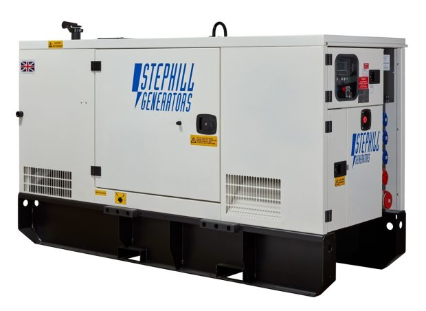 Oxtrad Tools Ltd The Stephill SSDP70 Super Silent 3 Phase Generator 67kVA 53.6kW