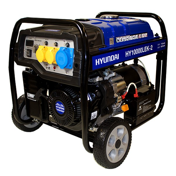 Oxtrad Tools Ltd Hyundai HY10000LEK-2 Electric Start Petrol Generator 8kW 10kVA