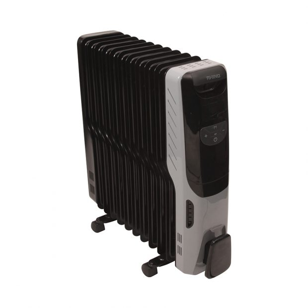Oxtrad Tools Ltd Rhino 2.5kW Oil Filled Radiator Deluxe H03613