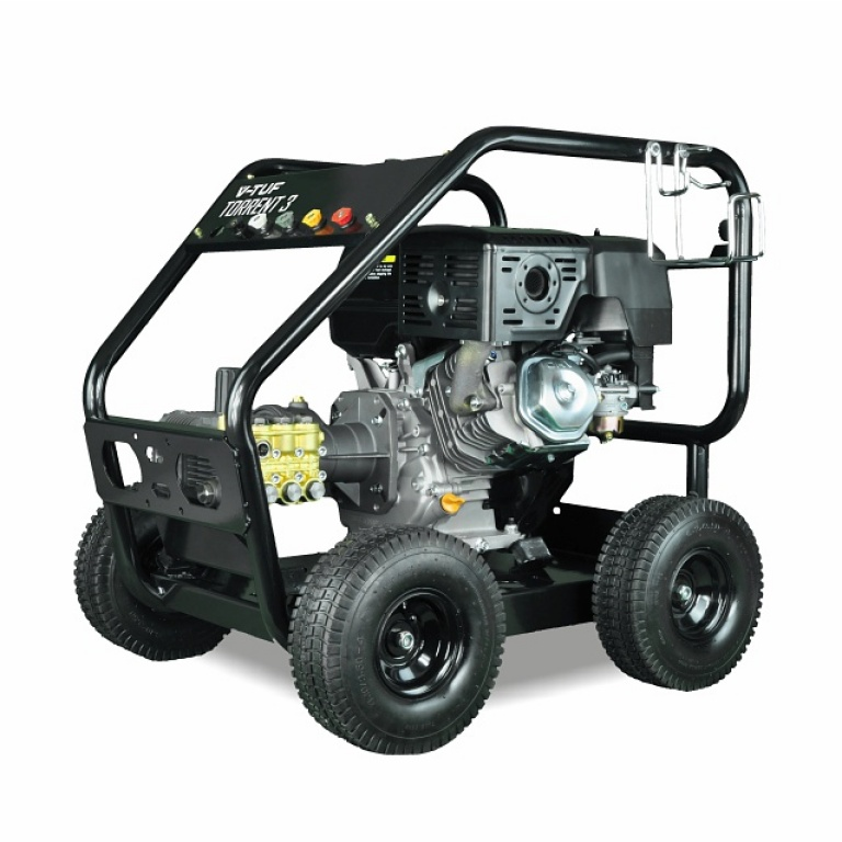 Oxtrad Tools Ltd V-Tuf Torrent 3RGB Electric Start Petrol Pressure Washer 4000psi