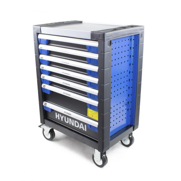 Oxtrad Tools Ltd Hyundai HYTC9003 305 Piece 7 Drawer Mobile Tool Chest