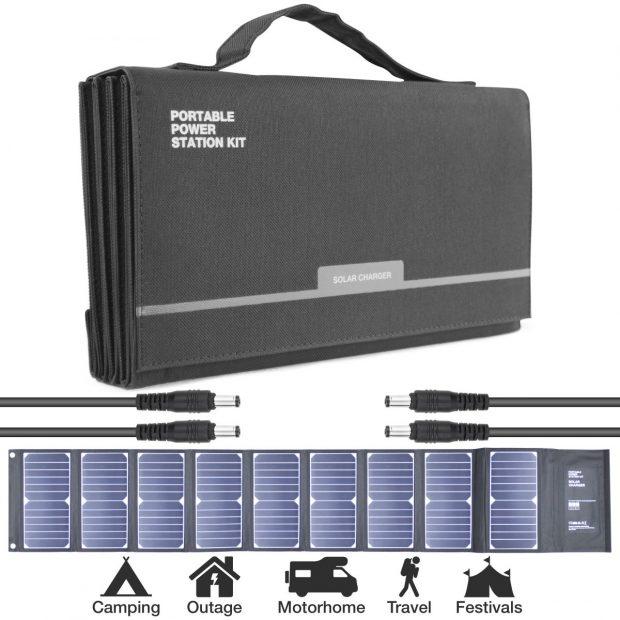 Oxtrad Tools Ltd Hyundai H60 Portable Solar Charger 60w
