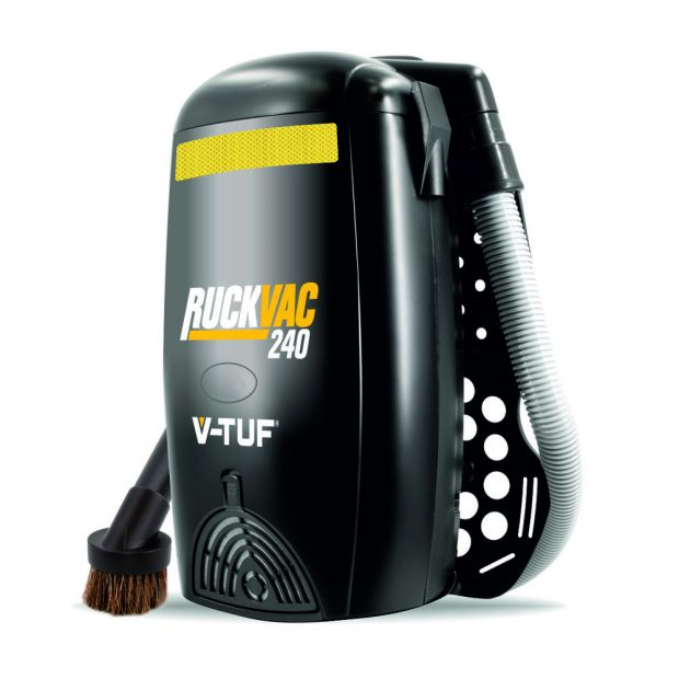 Oxtrad Tools Ltd V-Tuf RuckVac240 M Class Back Pack Vacuum 240v