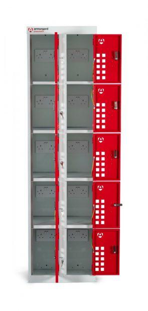Oxtrad Tools Ltd Armorgard Powerstation PWS10 10 Door Charger Cabinet
