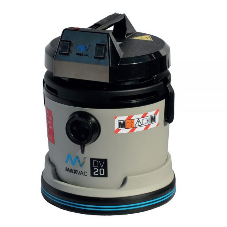 Maxvac Wet and Dry M Class HEPA Vacuum DV20MBN 110v/240v