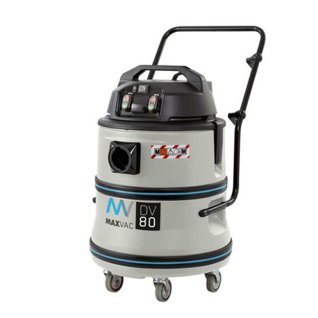 Oxtrad Tools Ltd Maxvac Dura M Class HEPA Vacuum Wet and Dry 80ltr DV80MB 110v/240v