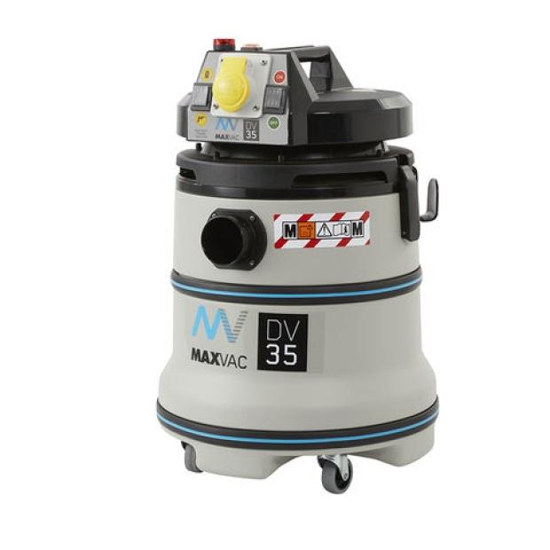 Oxtrad Tools Maxvac DV35MB M Class HEPA Vacuum 35ltr c/w PTO DV35MB 110v/240v