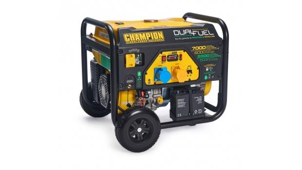 Champion 7000w Dual Fuel Open Frame Generator CPG7500E2-DF