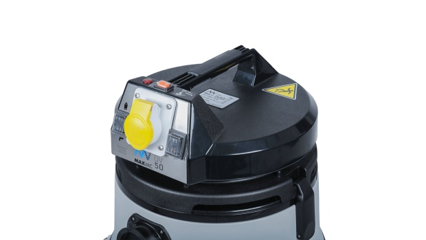 MAXVAC Dura DV50-MBA 110V Certified M Class Vacuum with Auto Filter Clean_1 (003)